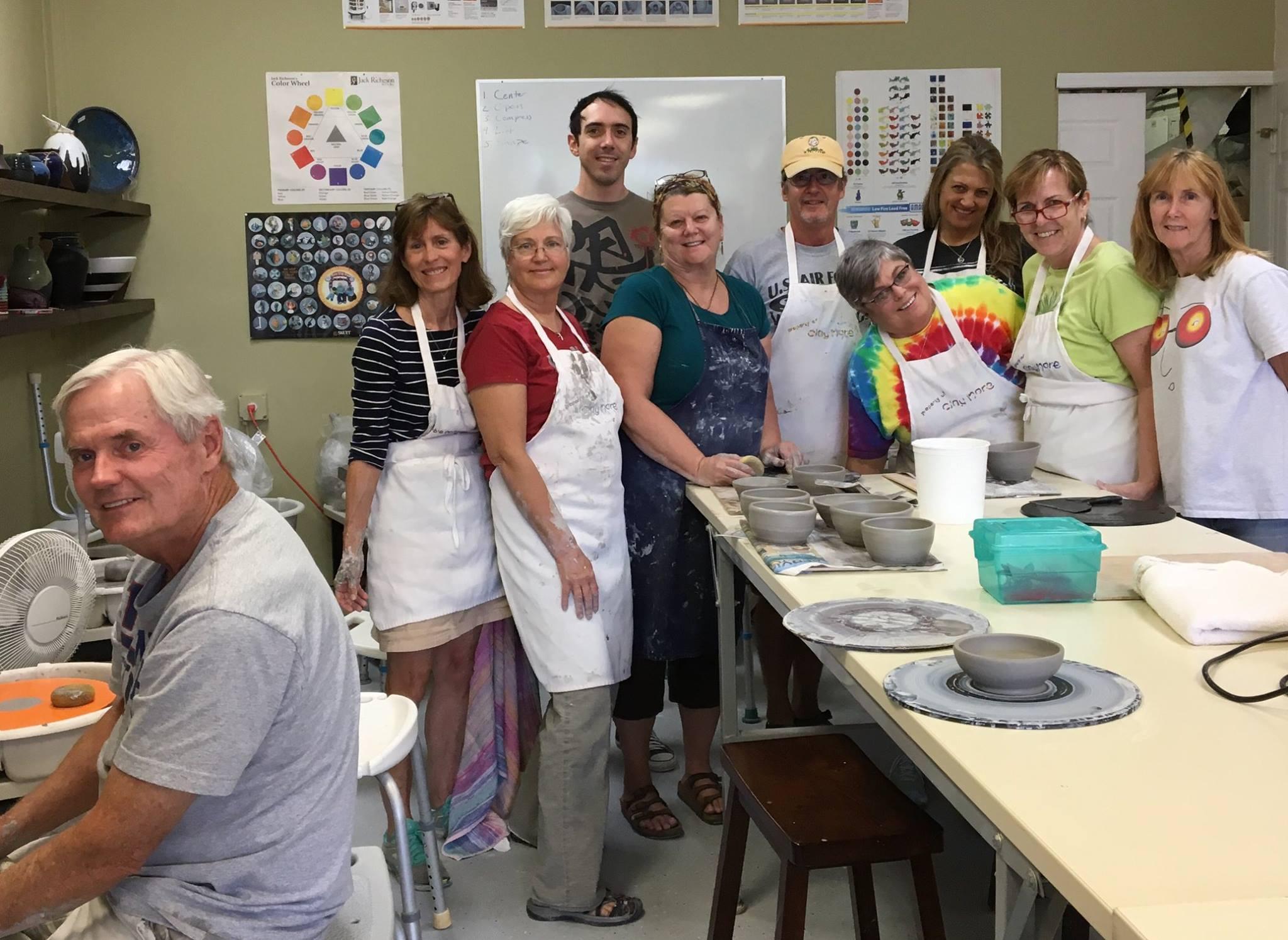 Clay More Ceramics hosts a clay creation event