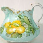 12B Wilma Manhardt Porcelain Pitcher
