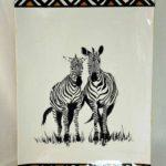 13G Joan Fuggi Twin Zebras