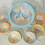 15A Renata Vigoda Sea Bird Bowl Set
