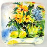 16F Anne Chaddock Lemons and Flowers