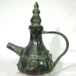 17E Ginny Mueller Mossy Tea Urn