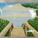 18B Tom Wood Beach Walk Platter