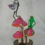 19B Gill Sanchez Frog Band