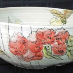 1D Marie Cliffe, Bouquet of Flowers bowl