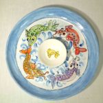 20C Lynne Hall Pices Platter
