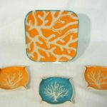 20D Laurel Schmid Coral Reef Plate set