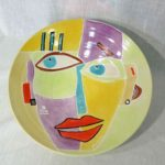 21E Sandee Kozlow Mahler Picasso Style Face