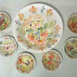 3C Mavis Spencer, Summer Garden Bowls Set