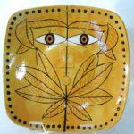 7C Barbara Wolf Leaf Mask