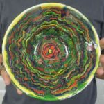 7D JC Guitierrez, Marbelized Bowl