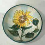8C Linda Cummings sunflower Bowl