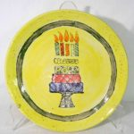 Lynne Hall, Happy Birthday Plate